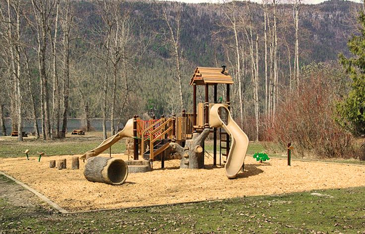 Mabel Lake Provincial Park - Habitat Systems #natural #outdoors #kids #play #fun #treehouse