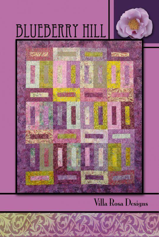Blueberry Hill Quilt Pattern By Pat Fryer Villa Rosa