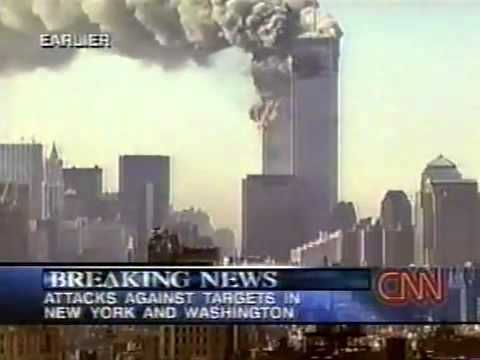 CNN News Coverage of the Terrorist Attacks in the US • 11 September 2001 ≈ 8:50am-11:30am http://www.youtube.com/watch?v=VfQI1ohBS8A [compare info available to NBC Today Show below]
