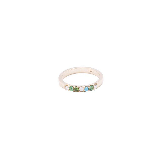 Acrostic Ring - When you take the first letters of each stone in the ring, they should spell a message, like an acrostic.