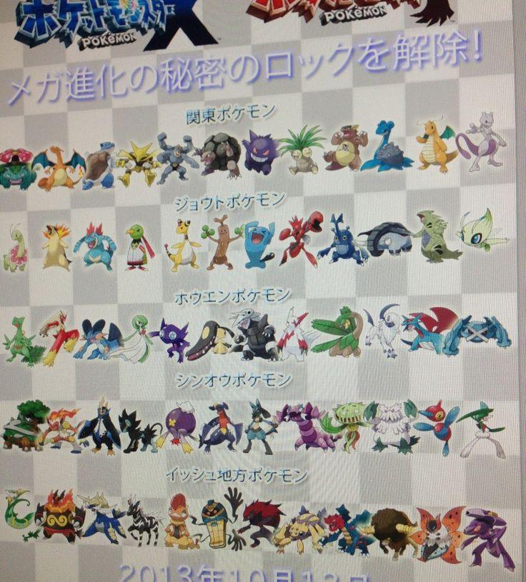 1000 images about mega evolution on pinterest pokemon