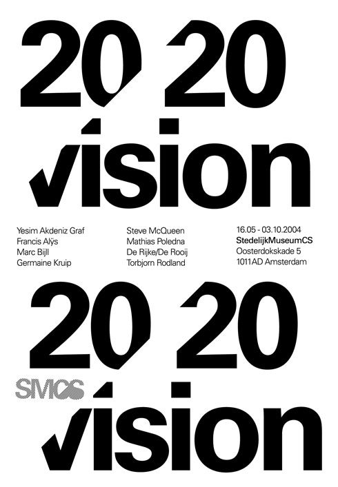 Poster design by Experimental Jetset