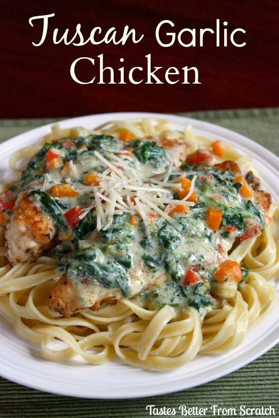 Tastes Better From Scratch: Tuscan Garlic Chicken