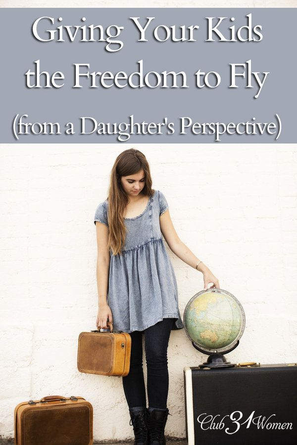Giving Your Kids the Freedom to Fly {from a Daughter