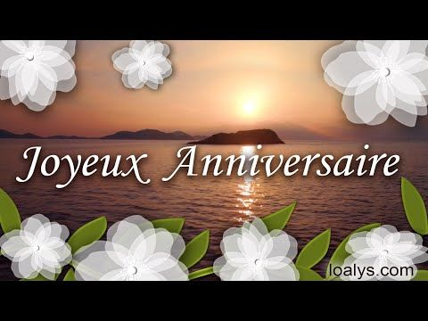 Jolie Carte Anniversaire Femme Animee Musicale Gratuite