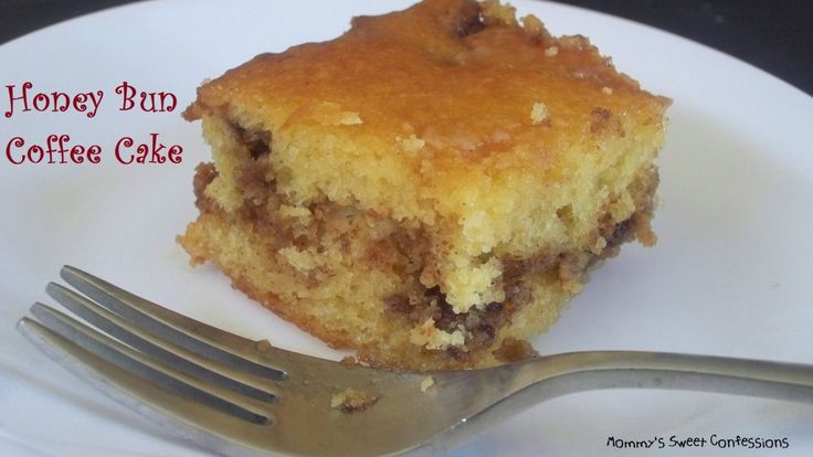 Honey Bun Coffee Cake