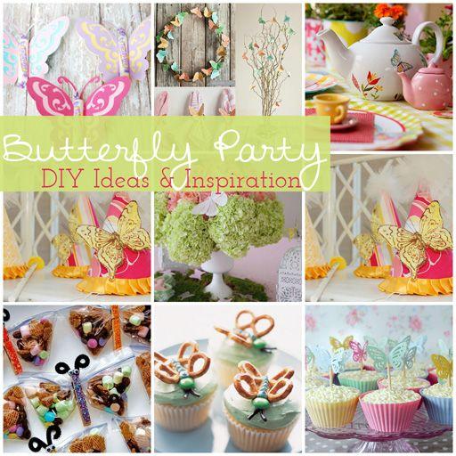 Butterfly birthday partyButterflies Birthday, Birthday Parties, 1St Birthday, Butterfly Party, Parties Ideas, Ideas Party, Butterflies Parties, Party Ideas, Birthday Ideas