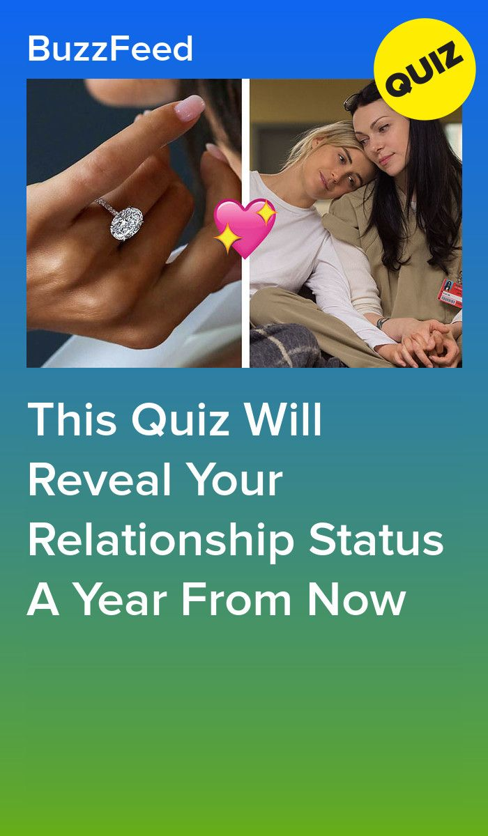 This Quiz Will Reveal Your Relationship Status A Year From