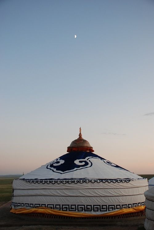 Gorgeous yurt!  foxontherun:    (via Places To Go / Mongolia)    someday. someday. someday.