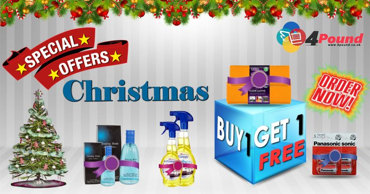 Amazing #Christmas Offers. Buy 1 Get 1 Offer at Low cost @4Pound Pick your Favourite now : http://www.4pound.co.uk/one-plus-one