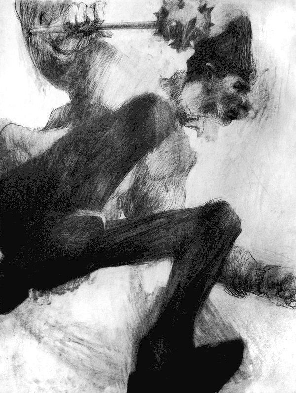 Young gods by Artem Krepkij, via Behance