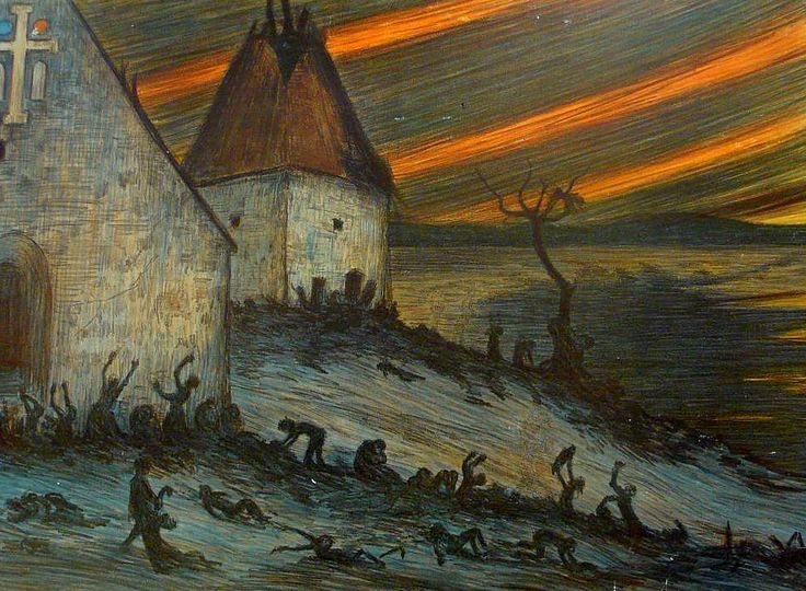 Musta surma Suomessa vuonna 1350The Black Death in Finland 1350Hugo Simbergoil 1906, Kustannusosakeyhtiö Otava, Helsinki.
