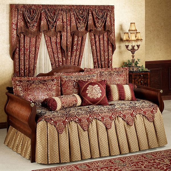 The Lavish Polyester Palatial Daybed Bedding Set Includes A