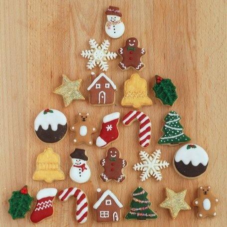Mini Christmas Cookie Advent Calendar   Craftstorming   MOnica e lo scrapbooking   Scoop.it