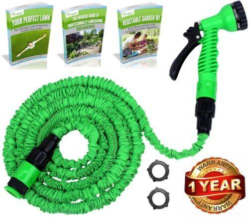 Deluxe-Original-Expandable-Garden-Hose-Pipe-50ft-WonderHose-great-tool