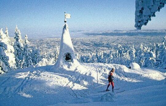 Snow, Kongsberg, Norway