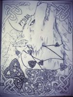 Fenrir by Nadia-AsViv
