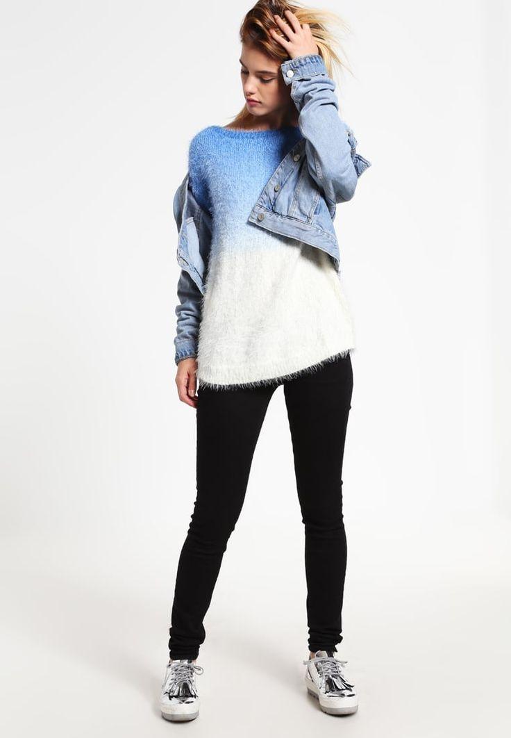 Wollen truien OVS Trui - off-white/light blue Gebroken wit: 35,95 € Bij Zalando (op 22/10/16). Gratis verzending & retournering, geen minimum bestelwaarde en 100 dagen retourrecht!