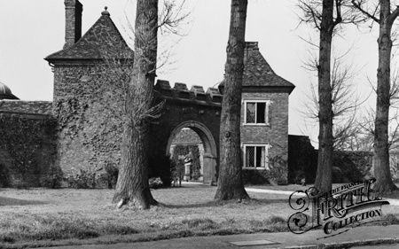 West Lodge, Dunsborough Park c1955, Ripley