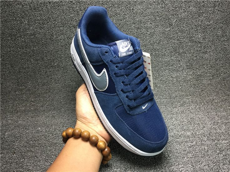 New Low Nike <br /> <br /> Air Force 1 NK Mens Running and Casual Shoes Blue