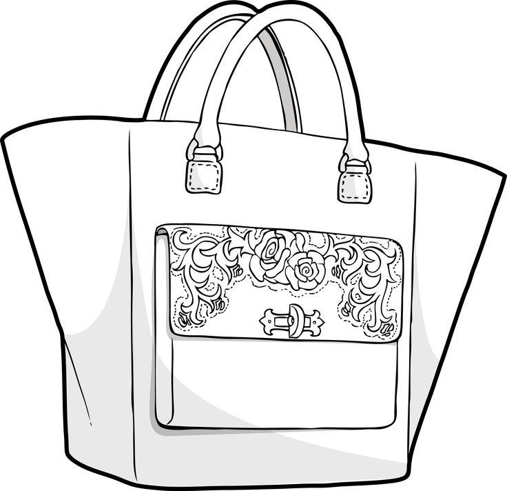 Luxurious embroidery bag / nani coldine in Zusammenarbeit mit DMI