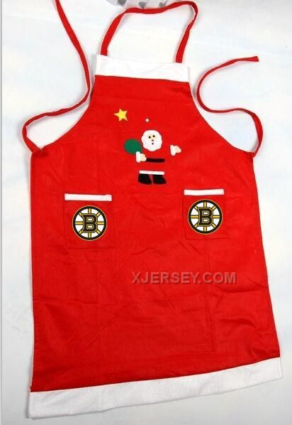 http://www.xjersey.com/bruins-nhl-logo-christmas-apron.html Only$24.00 BRUINS NHL LOGO CHRISTMAS APRON Free Shipping!