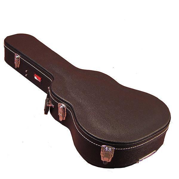 Gator Wood 3 4 Sized Acoustic Guitar Case Black Tolex In 2021 Guitar Case Acoustic Guitar Case Guitar Accessories