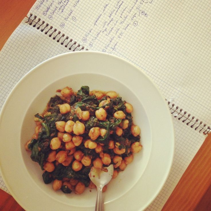 Espinacas con garbanzos -  The five best Spanish foods I never knew existed