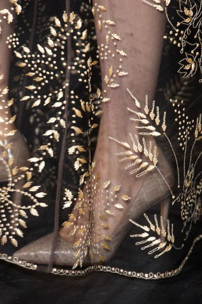 Valentino Fall 2013 - Embroidery
