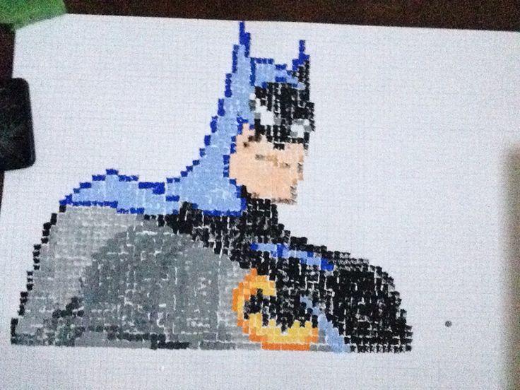 Batman sponge-art