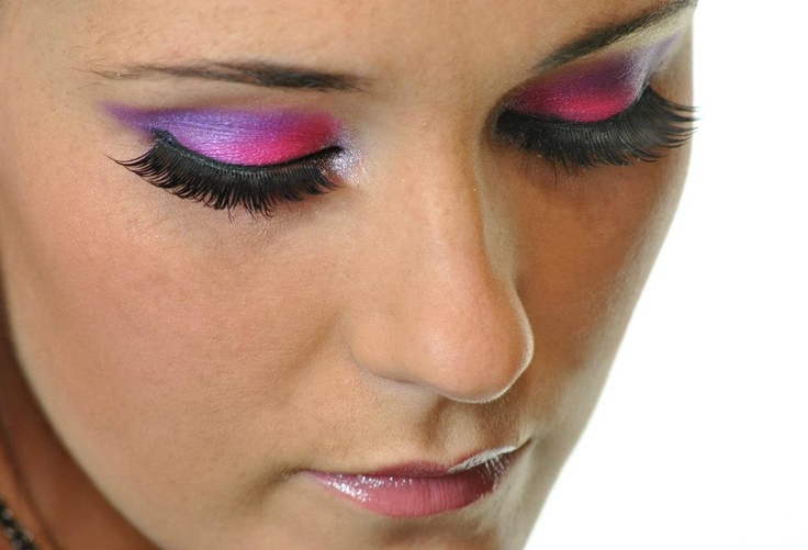 pink and purple colour pop!