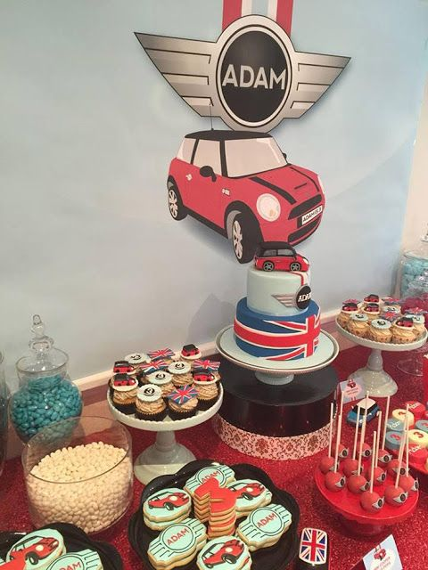 Little Big Company | The Blog: Mini Cooper themed Party by Mes Petits Cupcakes
