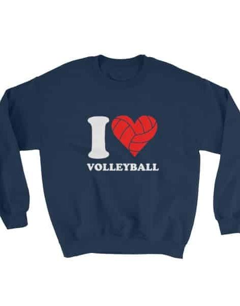 I love volleyball – Sweater
