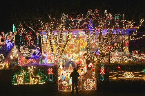 Top Christmas LightDisplays - Christmas Decorating -