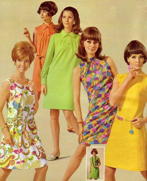 Fashions in the 60s 79