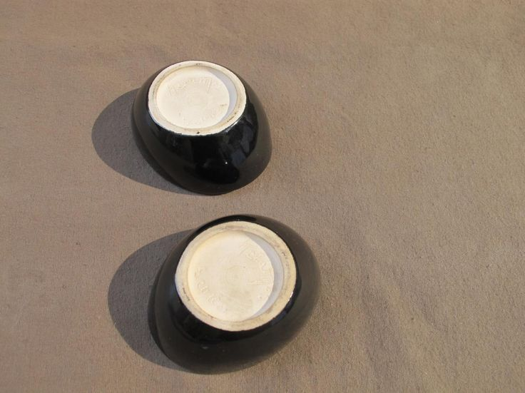 Trois Coupe De Keramos Sevres vert pomme - autres céramiques