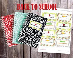 The Paper Princess | FREEBIE FRIDAY: Back to School Book Labels