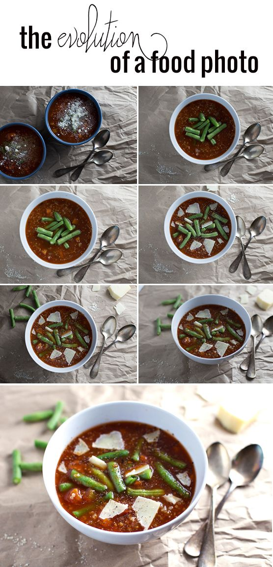 Blog Photography Tips | The Evolution of a Food Photo