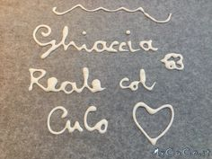 Ghiaccia reale col CuCo - http://www.mycuco.it/cuisine-companion-moulinex/ricette/ghiaccia-reale-col-cuco/?utm_source=PN&utm_medium=Pinterest&utm_campaign=SNAP%2Bfrom%2BMy+CuCo
