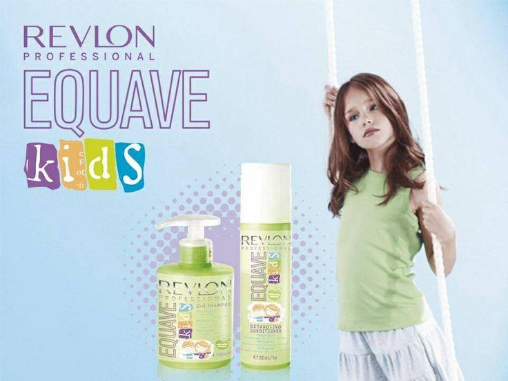 Equave kids: la linea per i piccini... Delicata, protettiva e gradevolmente profumata By Revlon Professional