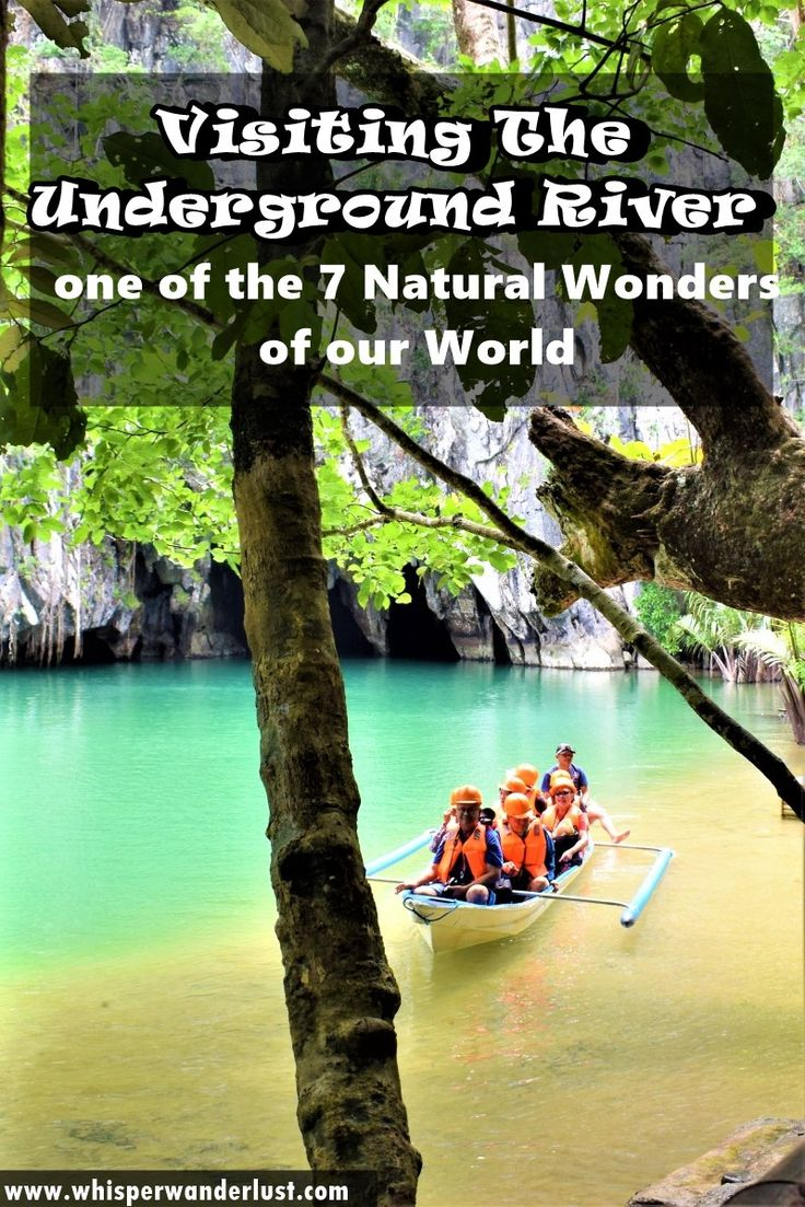 """The Underground River, Puerto Princesa, Palawan, Philippines The Underground River is one of those places and experiences that actually leaves you open-mouthed of amazement, in the best possible sense. Thanks to the title obtained in 2012, as """"One of the 7 Wonders of Nature"""" tourism in this area has exploded in recent years, more and more people from all over the world wanting to visit the river. It is still early in the glory to be stormed completely, so now is your chance to discover it"""