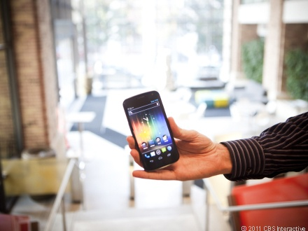 The Samsung Galaxy Nexus has a sharp design, the screen is gorgeous, and the internal performance is fantastic.