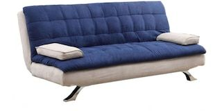 Buy Cosy Supersoft Dual Colored Sofa Cum Bed in Blue by Furny  Online: Shop from wide range of Sofa Cum Beds Online in India at best prices. ✔Free Shipping✔Easy EMI✔Easy Returns