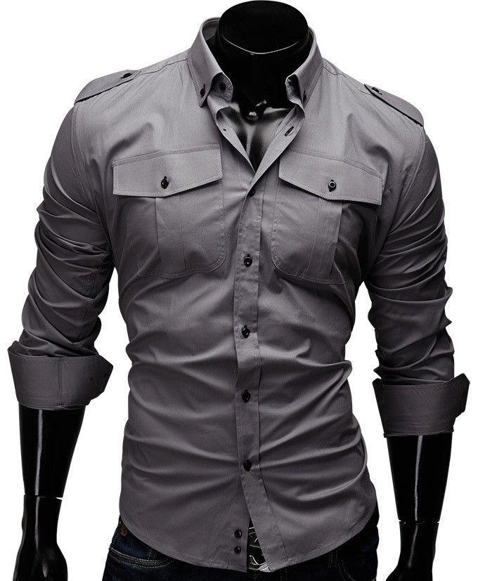 Solid Men Shirt Fashion
