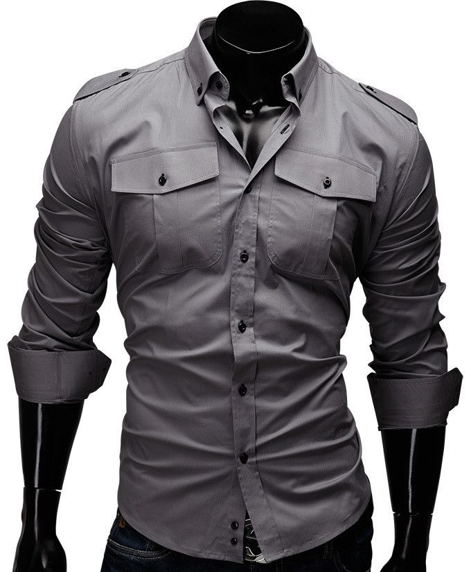 Solid Men Shirt Fashion
