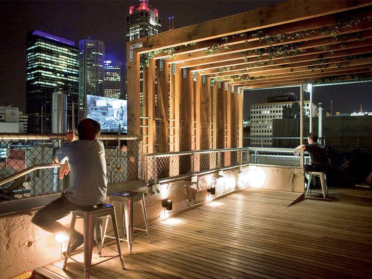 Rooftop Bar - Curtain House