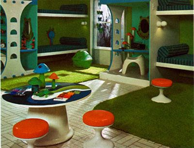 """children room - from """"Decorating your room - A Do-It-Yourself Guide"""" by Ellen Liman & Carol Panter 1974"""