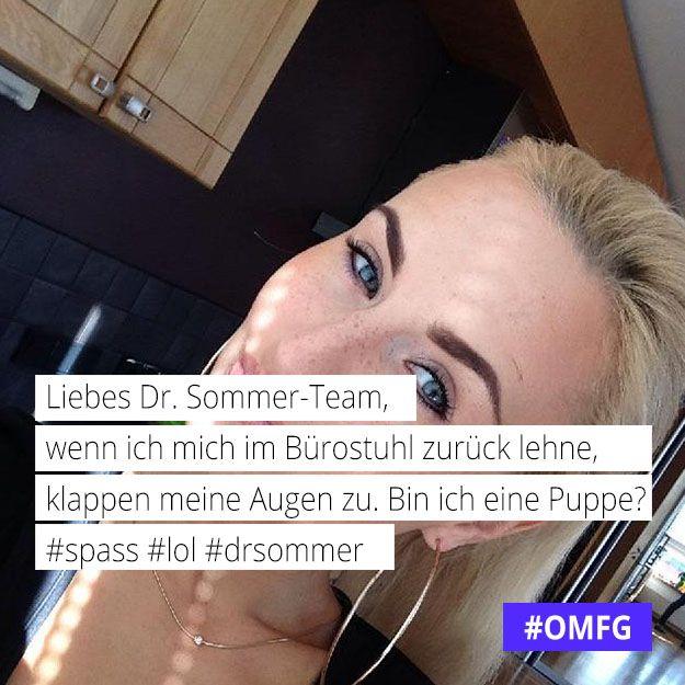Ivona (22) #Berlin: Liebes Dr. Sommer-Team ... Bin ich eine Puppe?  #spass #lol #drsommer