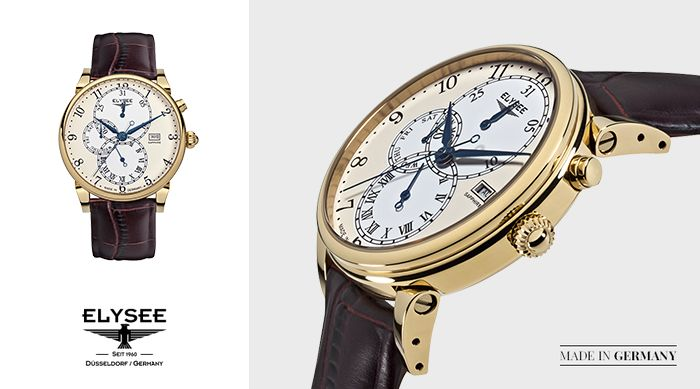 Zegarek Daidalos Elysee z kolekcji Classic. Sprawdź, gdzie można kupić nasze zegarki: http://bit.ly/Sklepy_Elysee