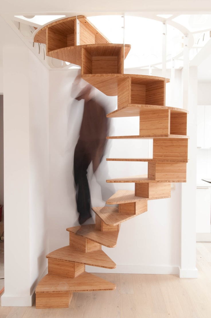 OlmO spiral staircase